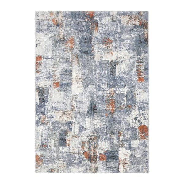 Covor Elle Decor Arty Miramas, 200 x 290 cm, albastru - crem