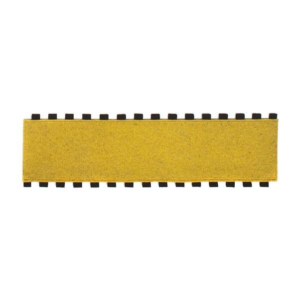 Tapperello Zinc Yellow, koberec 120x35 cm