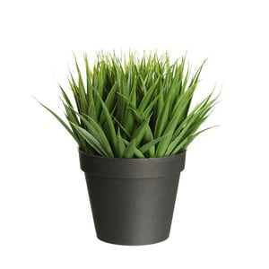 Plantă artificială Ixia Palm, înălțime 22 cm
