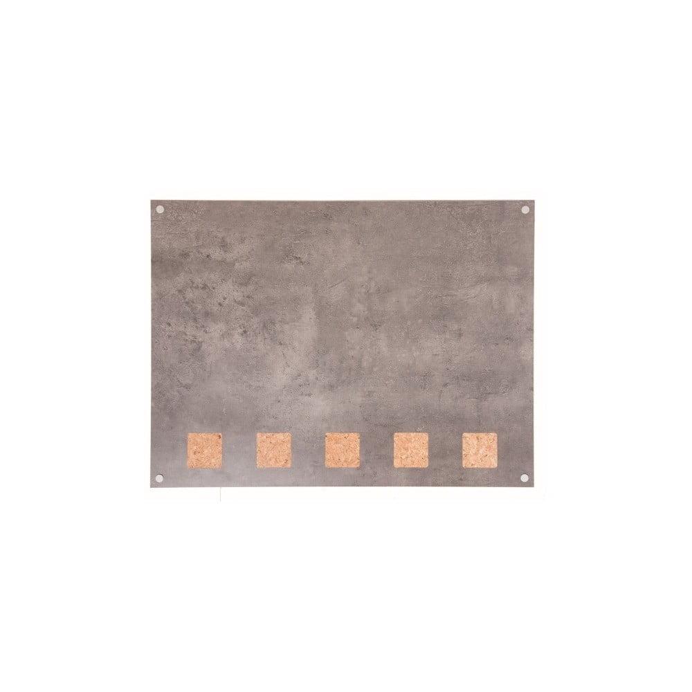 Popisovací deska s korkovými detaily Securit® Living Wall, 78 x 58 cm