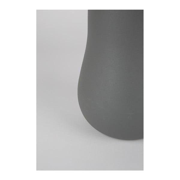 Šedá váza Zuiver Blob