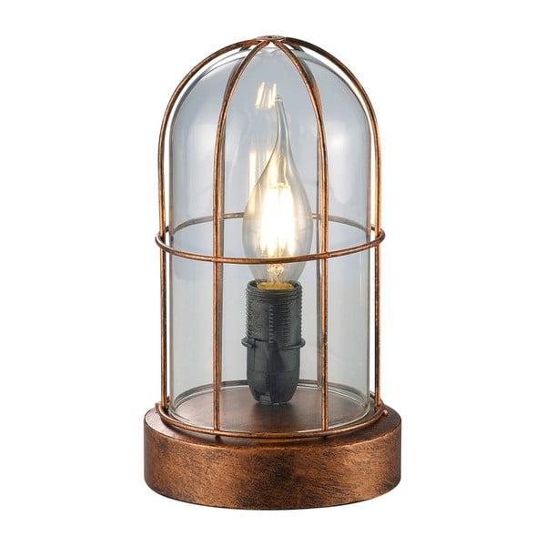 Stolní lampa Birte, měděná