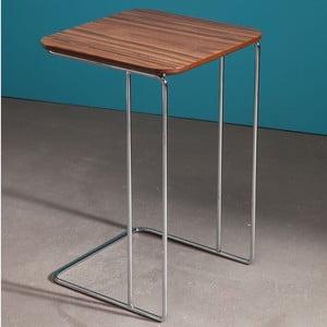 Odkládací stolek Pandora Walnut
