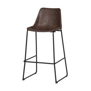 Hnědá barová židle De Eekhoorn Jet