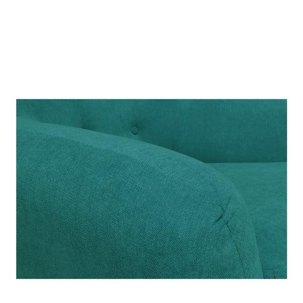 Zelenomodrá pohovka pro dva Cosmopolitan design London