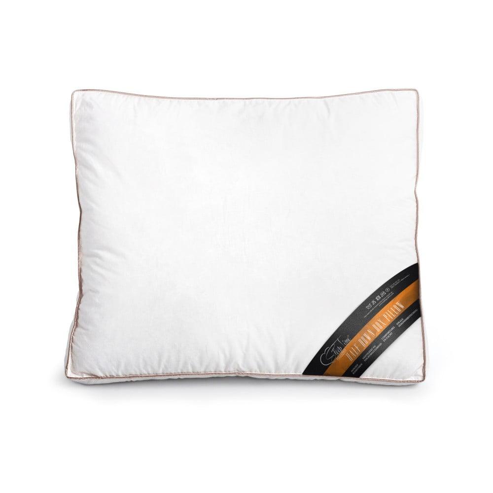 Polštář s paměťovou pěnou a prachovým peřím Sleeptime, 50 x 60 cm