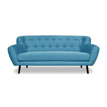 Canapea cu 3 locuri Cosmopolitan desing Hampstead, turcoaz de la Cosmopolitan Design
