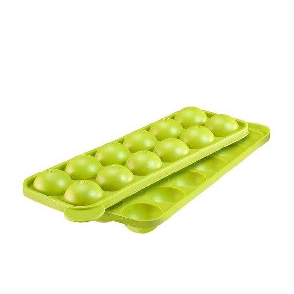 Silikonová forma na cake pops, zelená