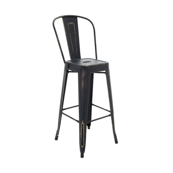 Židle InArt Antique, černá, 115 cm