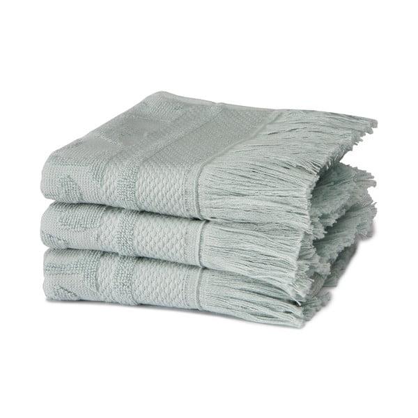 Set 3 ručníků Grace Mist, 30x50 cm