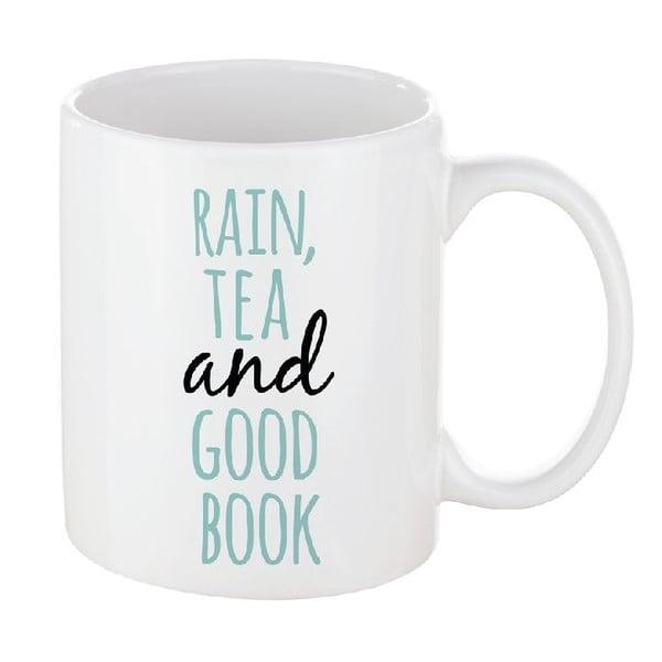 Porcelánový hrnek We Love Home Rain & Tea, 300 ml