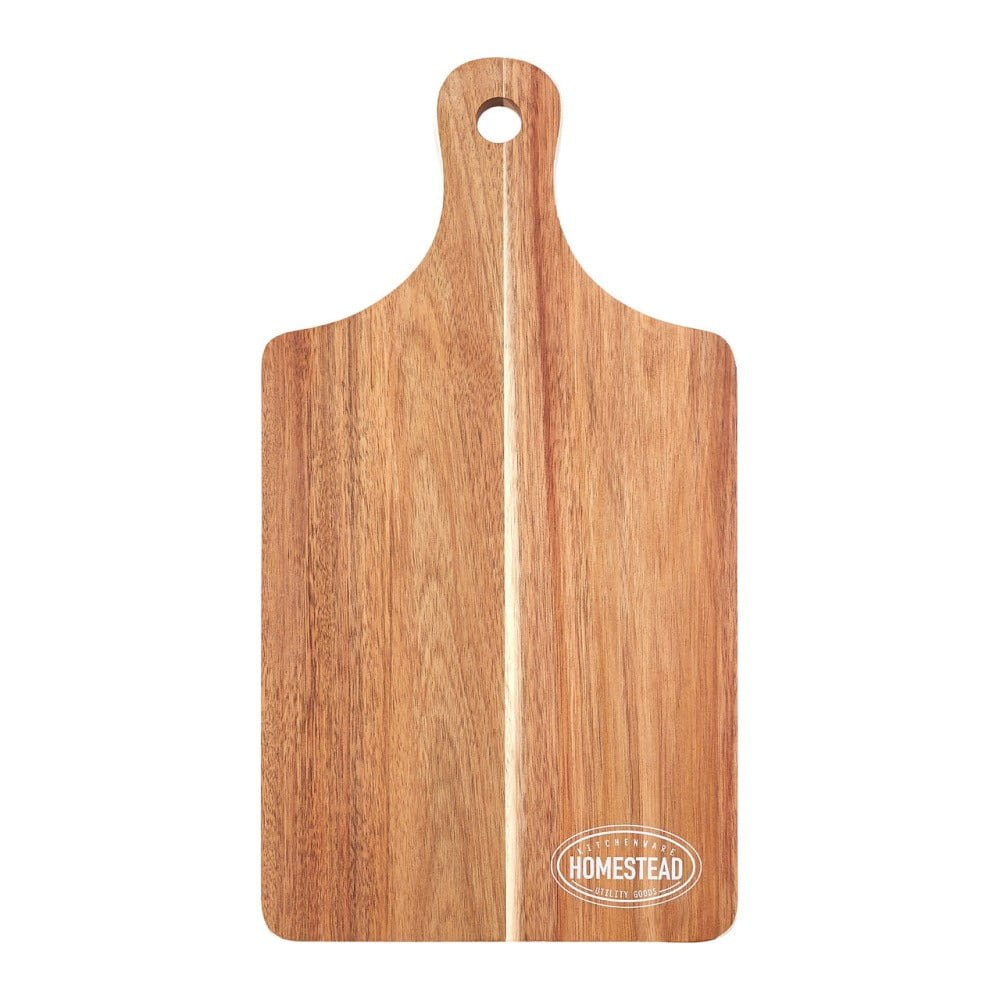 Krájecí prkénko z akáciového dřeva Premier Housewares, 23 x 43 cm