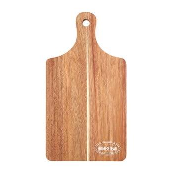 Tocător din lemn de acacia Premier Housewares, 23 x 43 cm