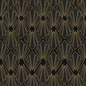 Tapet Gap Gold Geometry, 52 X 300 Cm (3 Role)