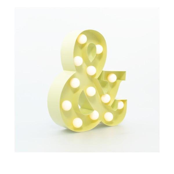 Dekorativní světlo Carnival &, vanilkové