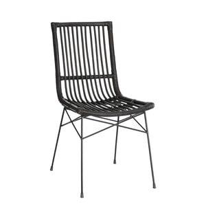 Ratanová židle Ixia Black