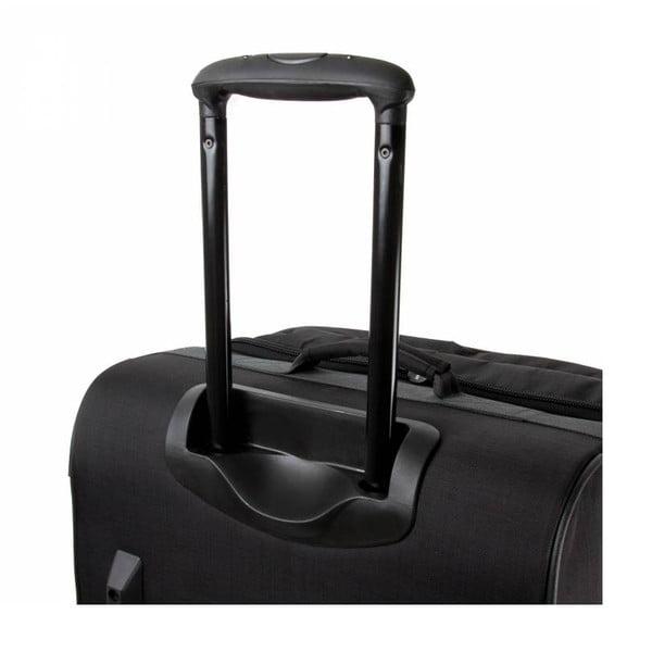 Cestovní kufr Track Jack Trolley L, černý