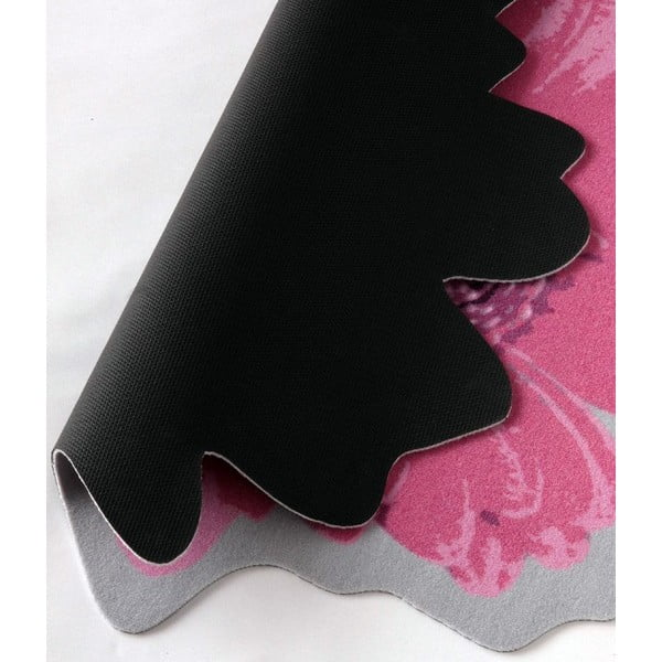 Koberec Special - růžová květina, 100 cm