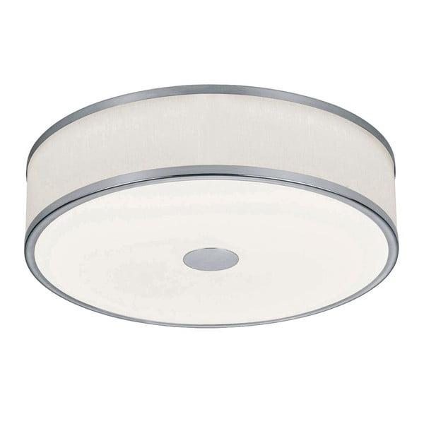 Plafonieră LED Trio Agento, ø 40 cm, argintiu