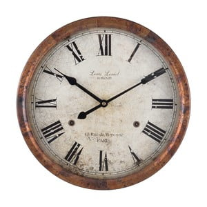 Nástěnné hodiny Clayre&Eef Hernie, ⌀36cm