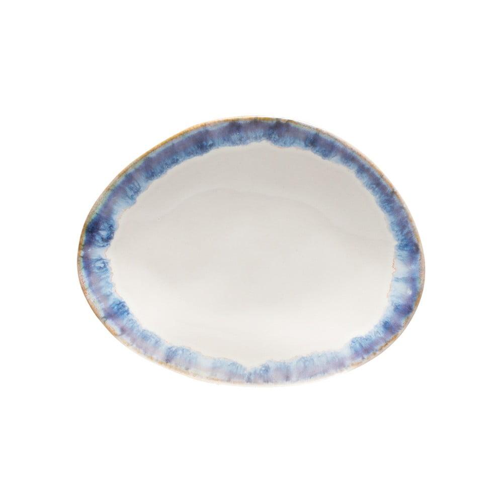 Modrobílý kameninový dezertní talíř Costa Nova Brisa Costa Nova