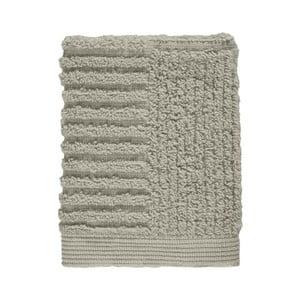 Šedozelený šedý ručník ze 100% bavlny na obličej Zone Classic Eucalyptus, 30x30cm