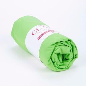 Elastické prostěradlo 100x200 cm, green