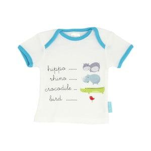 Dětské tričko Hippo s krátkým rukávem, vel. 24 až 36 měsíců