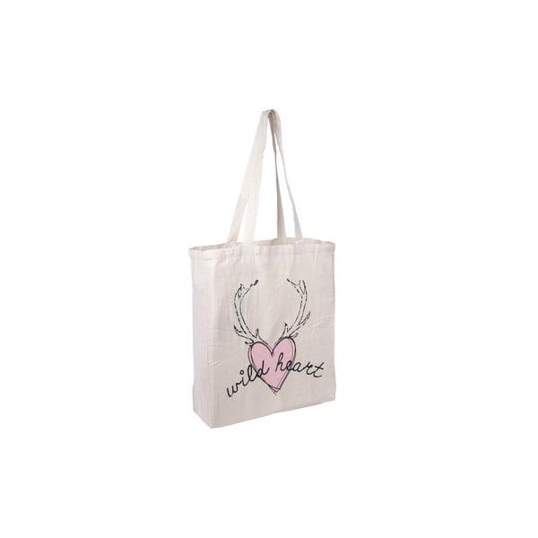 Plátěná taška Wild Heart