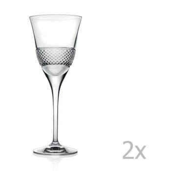 Set 2 pahare de vin RCR Cristalleria Italiana Giulio de la RCR Cristalleria Italiana