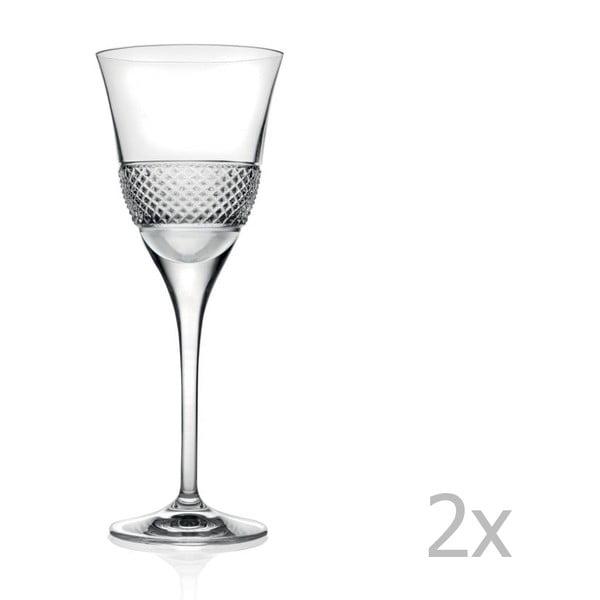 Set 2 pahare de vin RCR Cristalleria Italiana Giulio