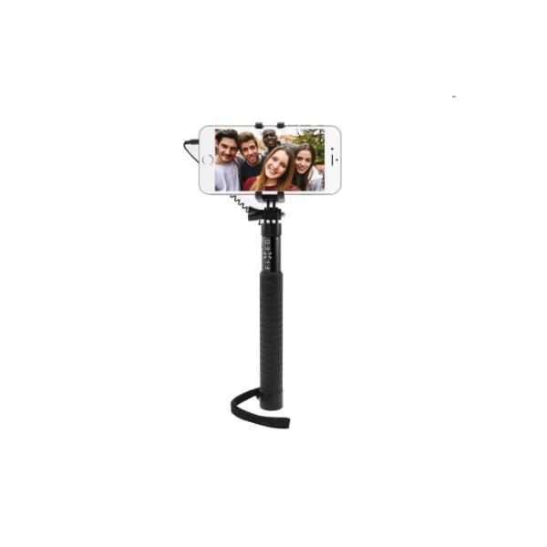 Teleskopický selfie stick FIXED, černý