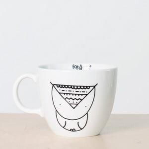 Hrnek FOR.REST Design Owl,500ml