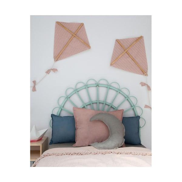 Šedý dekorativní polštář Little Nice Things Moon