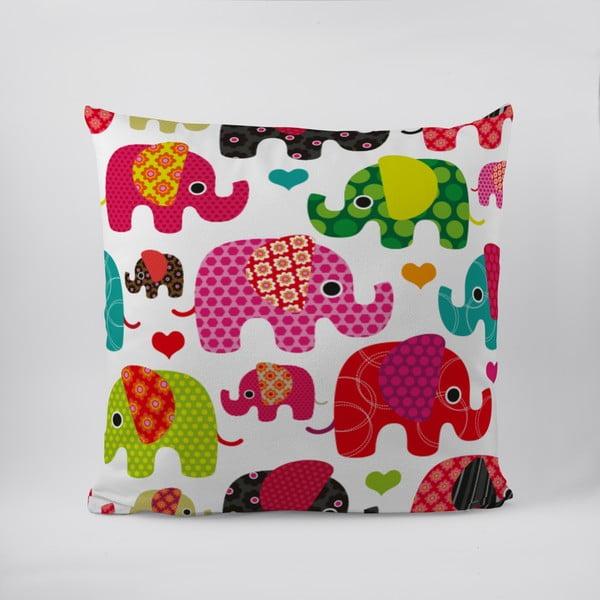 Polštář Lovely Elephant Love