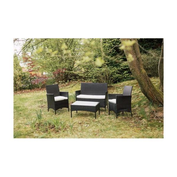 Set mobilier grădină din ratan artificial Timpana Filia