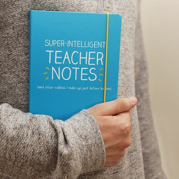 Linkovaný zápisník A5 Happy Jackson Intelligent Teacher Notes