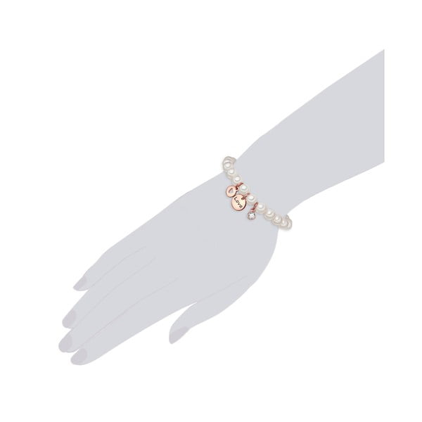 Perlový náramek Perldesse Ame, perla,⌀0,8cm