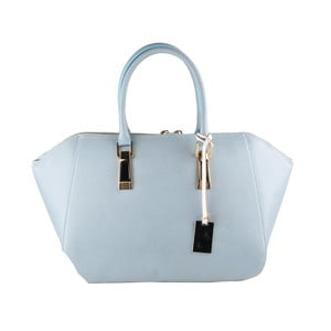 Světle modrá kožená kabelka Matilde Costa Palmas