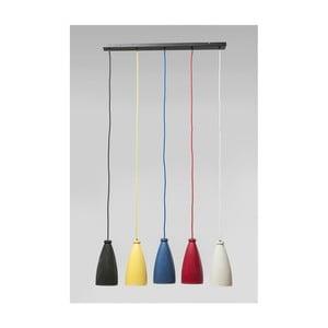 Lustră cu 5 becuri Kare Design Art Colore