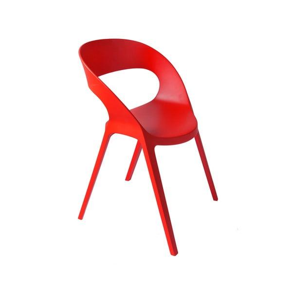 Set 2 scaune de grădină Resol Carla, roșu