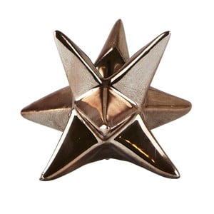 Suport pentru lumânare KJ Collection Star Copper, 7,3 cm