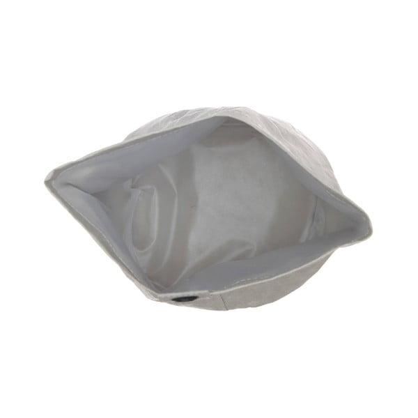 Coș din hârtie lavabilă pentru rufe Furniteam Home, ⌀ 19 cm, gri
