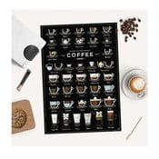 Poster Follygraph 38 Ways To Make Perfect Coffee, 42x59,4 cm