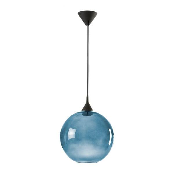 Niebieska lampa wisząca z recyklingu Really Nice Things Really Nice Things, Ø 33 cm