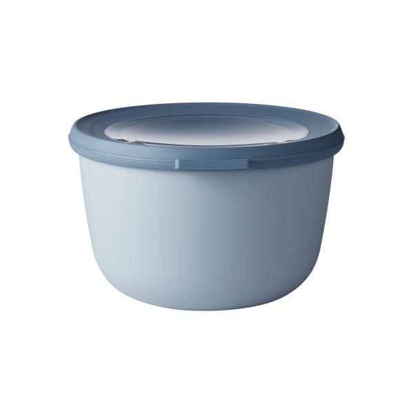 Modrá miska s víčkem Rosti Mepal Nordic, 1 l