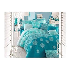 Lenjerie de pat cu cearșaf Souise, 200 x 220 cm