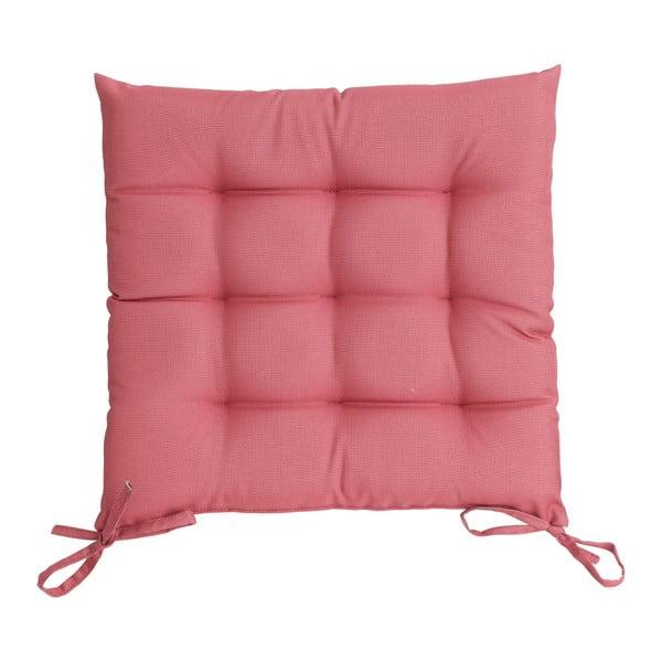 Ružový vankúš na sedenie Ego Dekor St. Maxime, 38×38cm