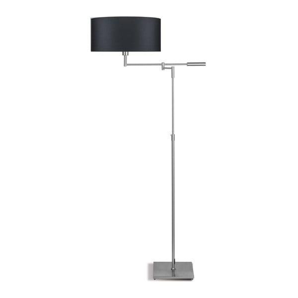 Šedá volně stojící lampa s tmavě šedým stínidlem Citylights Berlin