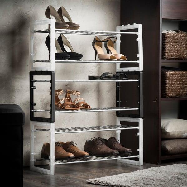 Sada 3 stohovatelných botníků Compactor Shoe Rack